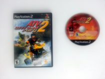 ATV Offroad Fury 2 game for Sony Playstation 2 PS2 -Game & Case
