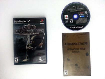 Airborne Troops Countdown to D-Day game for Sony Playstation 2 PS2 -Complete