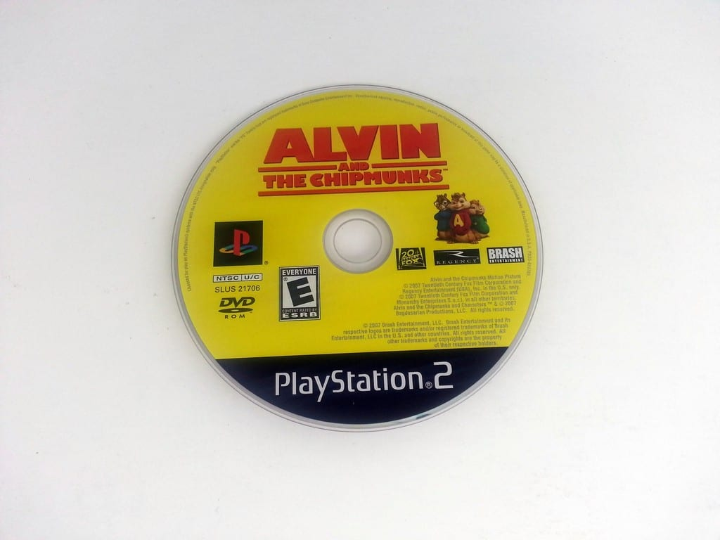 Alvin And The Chipmunks The Game game for Sony Playstation 2 PS2 - Loose