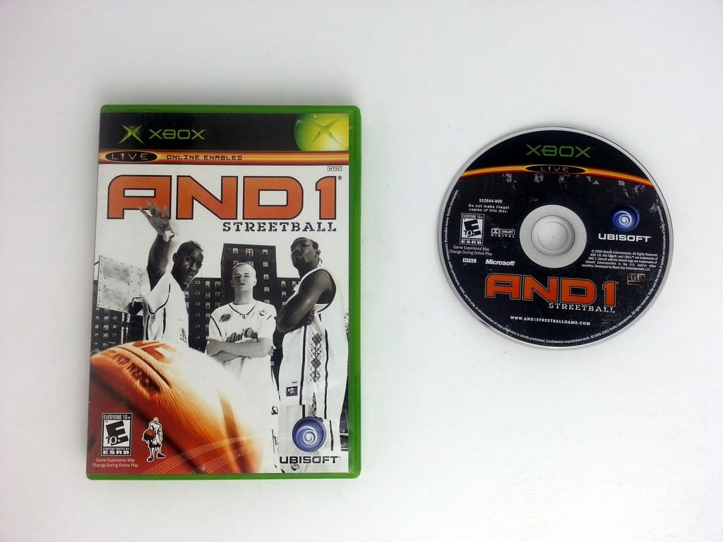 And 1 Streetball game for Microsoft Xbox -Game & Case