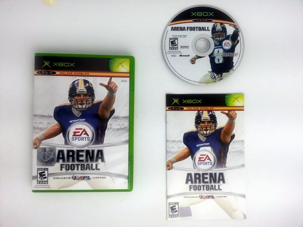 Arena Football game for Microsoft Xbox -Complete