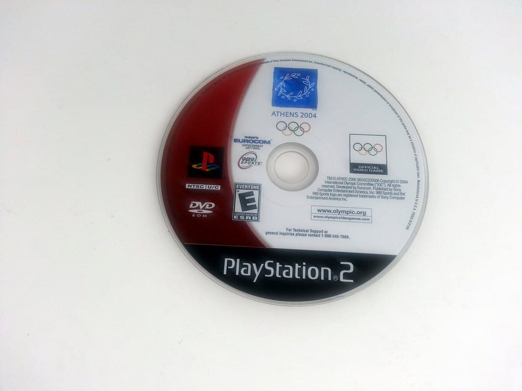 Athens 2004 game for Sony Playstation 2 PS2 - Loose