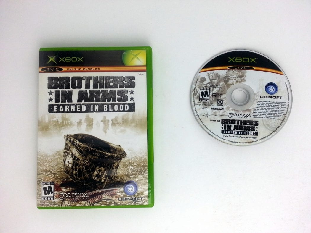 Brothers in Arms Earned in Blood game for Microsoft Xbox -Game & Case