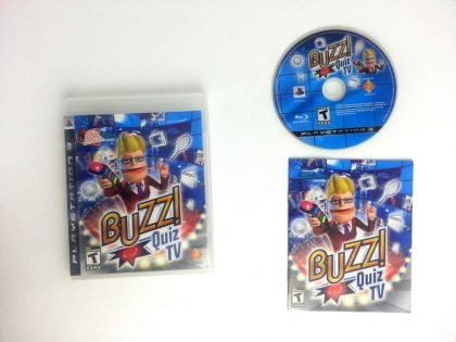 Buzz! Quiz TV game for Sony Playstation 3 PS3 -Complete