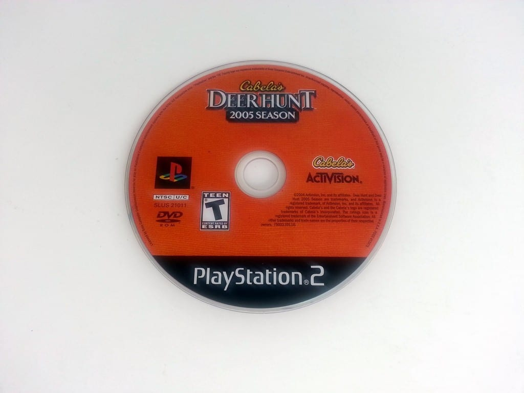Cabela's Deer Hunt 2005 game for Sony Playstation 2 PS2 - Loose