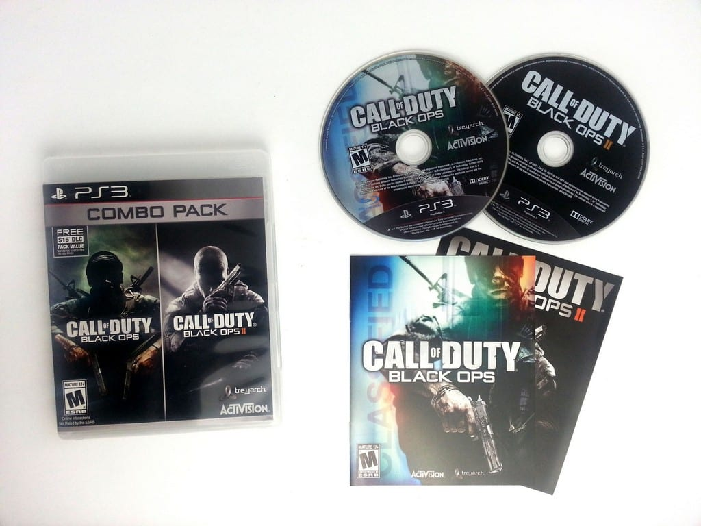 Call of Duty: Black Ops I and II Combo Pack game for Playstation 3 (Complete) | The Game Guy