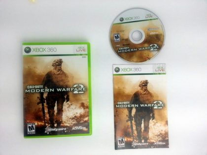 Call of Duty: Modern Warfare 2 game for Microsoft Xbox 360 -Complete