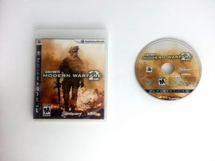 Call of Duty: Modern Warfare 2 game for Sony Playstation 3 PS3 -Game & Case
