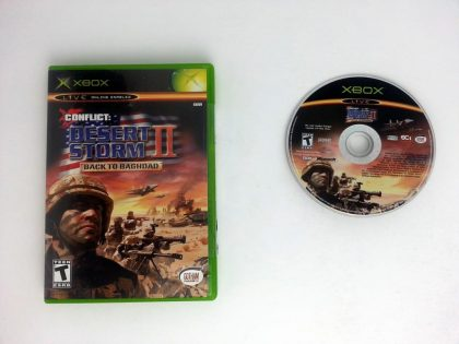 Conflict Desert Storm 2 game for Microsoft Xbox -Game & Case