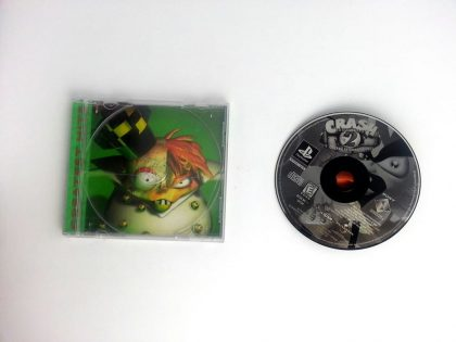 Crash Bandicoot 2 Cortex Strikes Back game for Playstation PS1 PSX -Game & Case