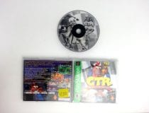 Crash Team Racing CTR game for Sony Playstation PS1 PSX -Complete