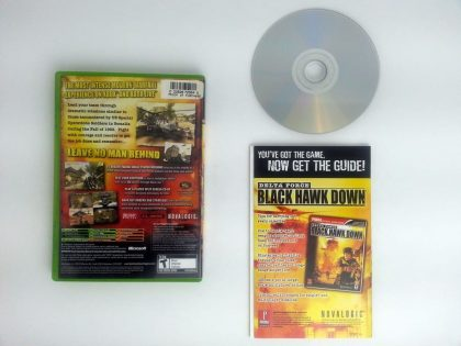 Delta Force Black Hawk Down game for Xbox (Complete) | The Game Guy