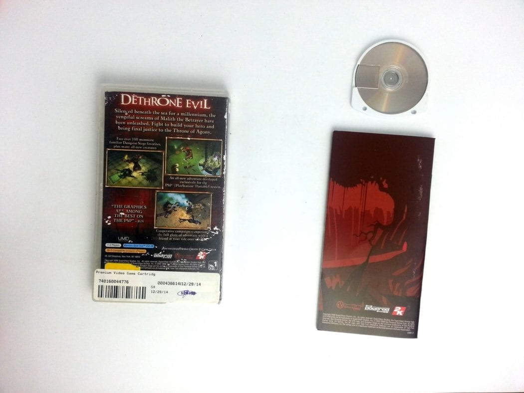 Dungeon Siege Throne of Agony game for PSP (Complete) | The Game Guy