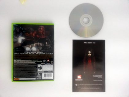 F.E.A.R. 2 Project Origin game for Xbox 360 (Complete) | The Game Guy