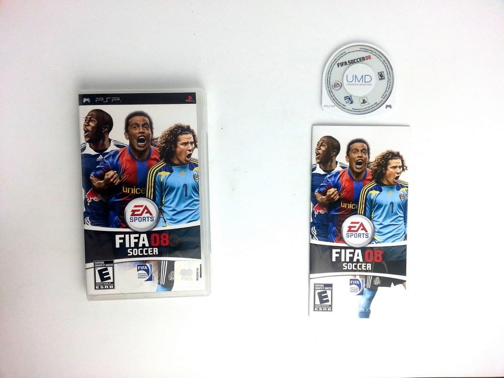 FIFA 2008 game for Sony PSP -Complete