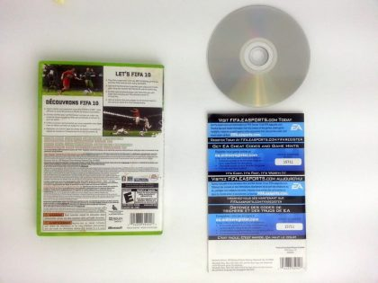 FIFA Soccer 10 game for Xbox 360 (Complete)   The Game Guy