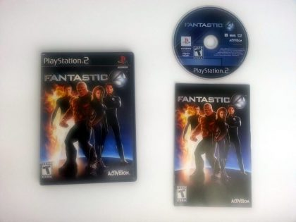 Fantastic 4 game for Sony Playstation 2 PS2 -Complete