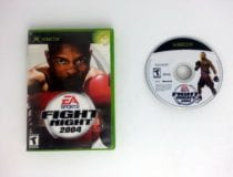 Fight Night 2004 game for Microsoft Xbox -Game & Case