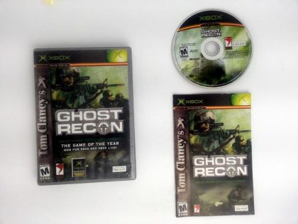 Ghost Recon game for Microsoft Xbox -Complete