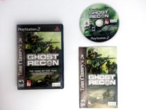 Ghost Recon game for Sony Playstation 2 PS2 -Complete