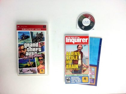 Grand Theft Auto Vice City Stories game for Sony PSP -Complete