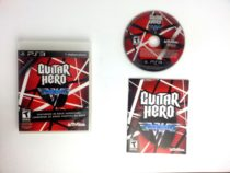 Guitar Hero: Van Halen game for Sony Playstation 3 PS3 -Complete
