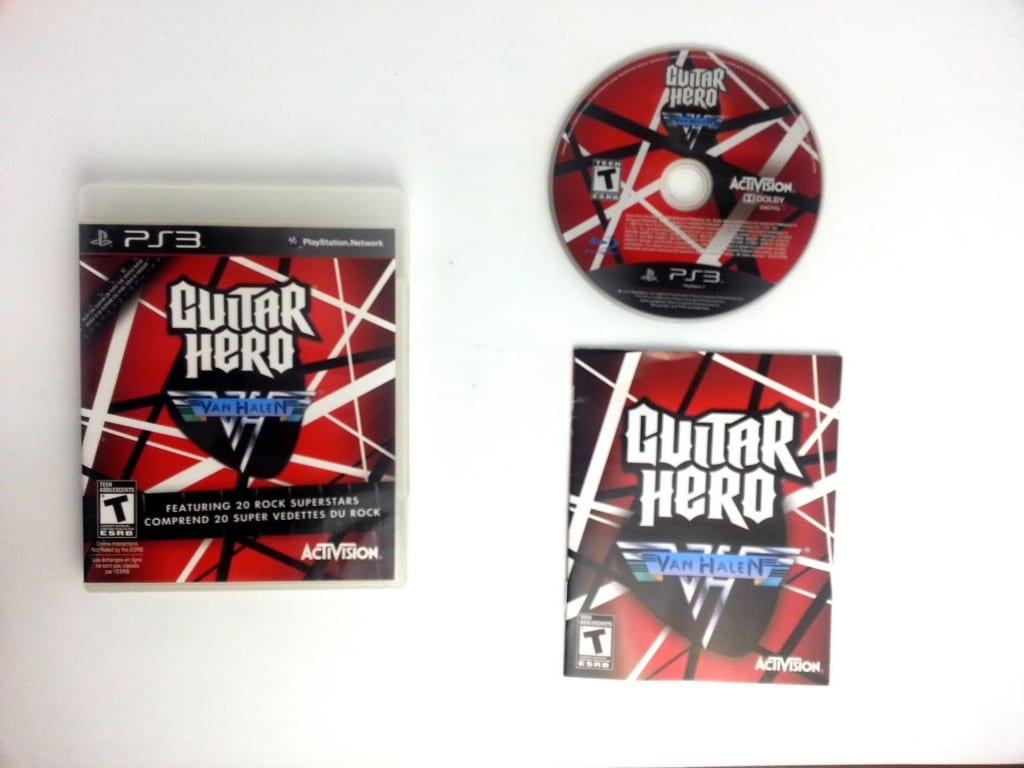 Guitar Hero Van Halen Game For Playstation 3 Complete The Game Guy