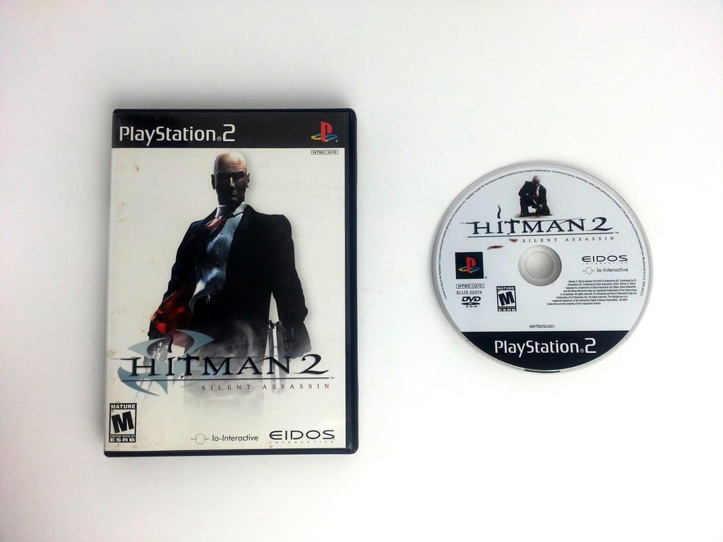 Hitman 2 game for Sony Playstation 2 PS2 -Game & Case