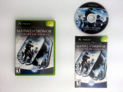 Medal of Honor European Assault game for Microsoft Xbox -Complete