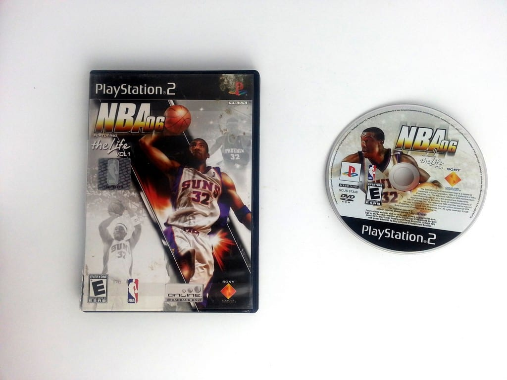 NBA 06 game for Sony Playstation 2 PS2 -Game & Case