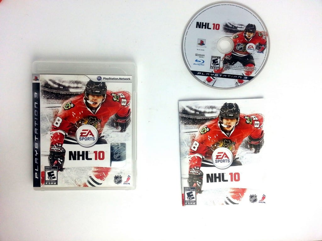 NHL 10 game for Sony Playstation 3 PS3 -Complete