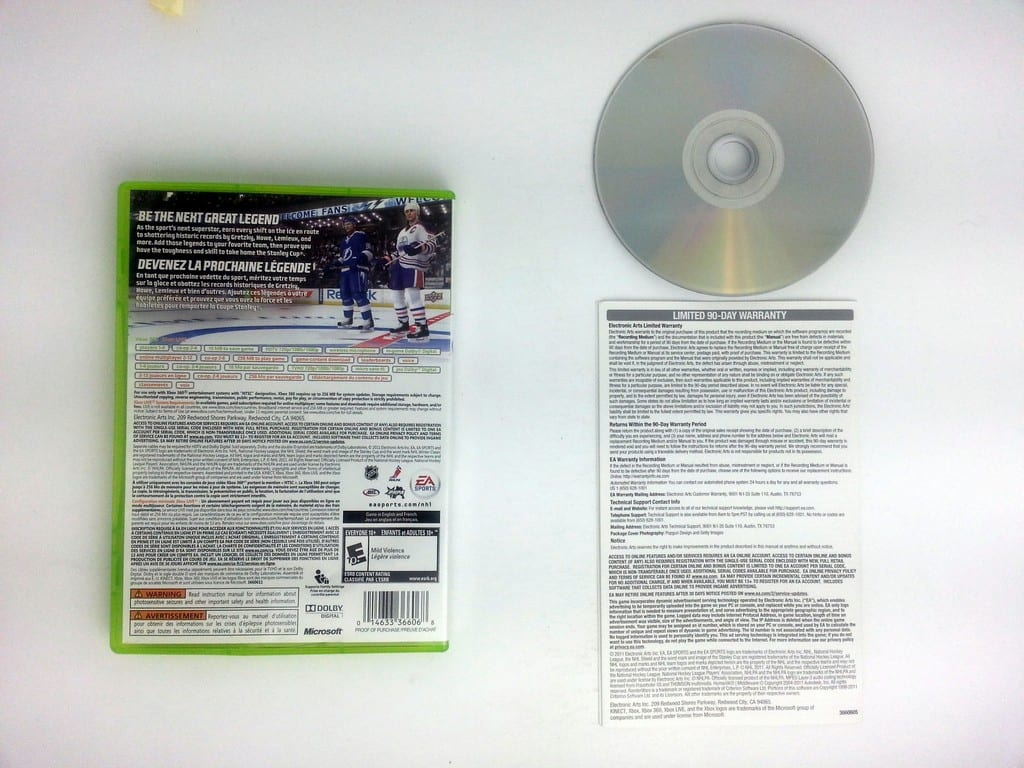 NHL 12 game for Xbox 360 (Complete)   The Game Guy