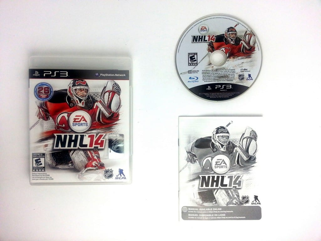 NHL 14 game for Sony Playstation 3 PS3 -Complete