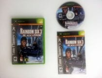 Rainbow Six 3 Black Arrow game for Microsoft Xbox -Complete