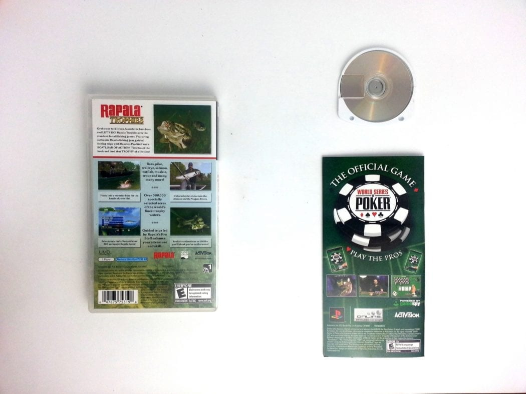 Rapala Trophies game for PSP (Complete)   The Game Guy