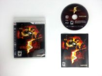 Resident Evil 5 game for Sony Playstation 3 PS3 -Complete