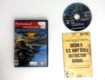 SOCOM II US Navy Seals game for Sony Playstation 2 PS2 -Complete
