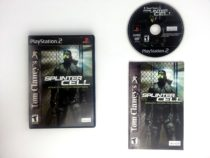 Splinter Cell game for Sony Playstation 2 PS2 -Complete