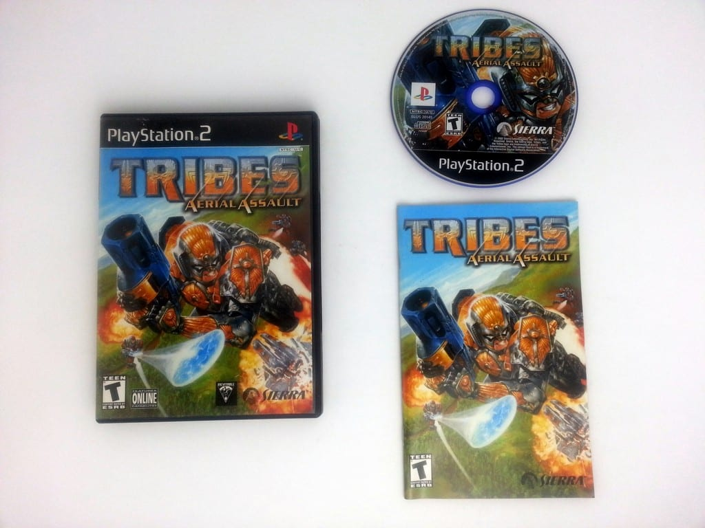 TRIBES Aerial Assault game for Sony Playstation 2 PS2 -Complete