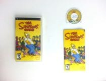 The Simpsons Game game for Sony PSP -Complete