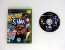 The Sims Bustin Out game for Microsoft Xbox -Game & Case