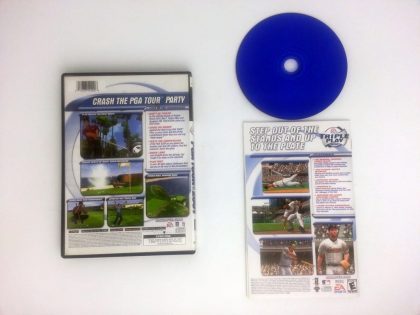 Tiger Woods 2001 game for Playstation 2 (Complete)   The Game Guy