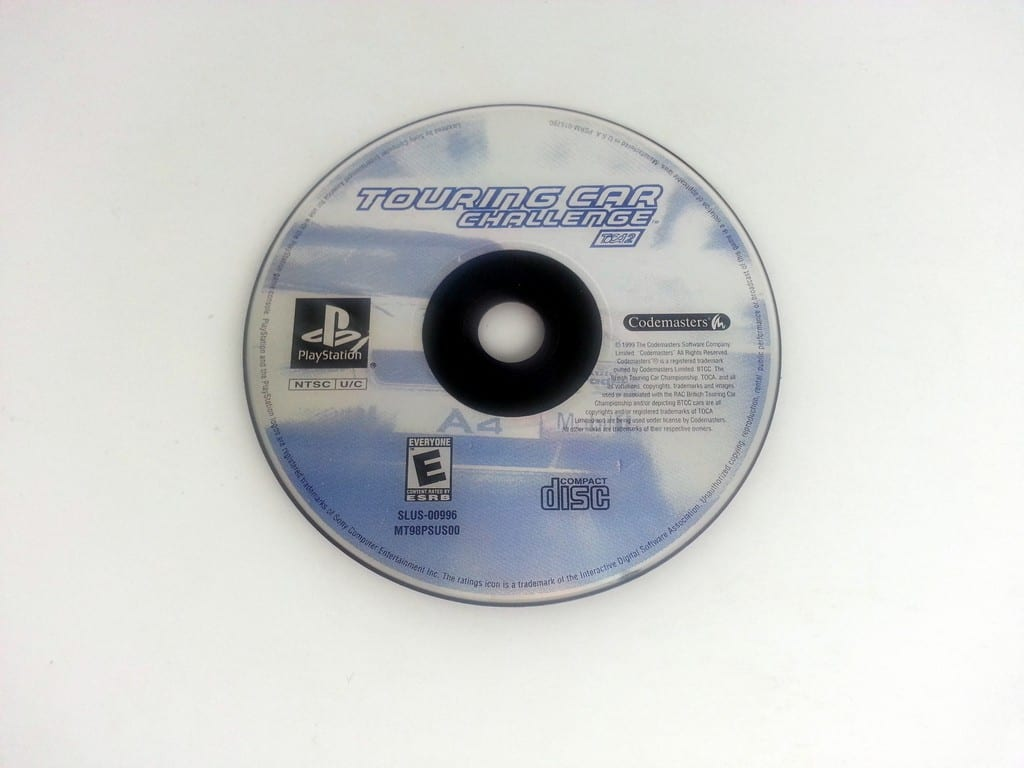 Touring Car Challenge game for Sony Playstation PS1 PSX - Loose