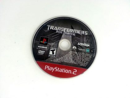 Transformers the Game game for Sony Playstation 2 PS2 - Loose
