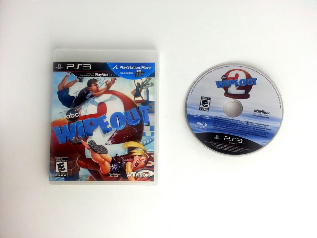 Wipeout 2 game for Sony Playstation 3 PS3 -Game & Case
