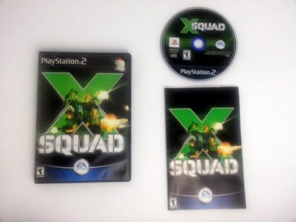 X-Squad game for Sony Playstation 2 PS2 -Complete