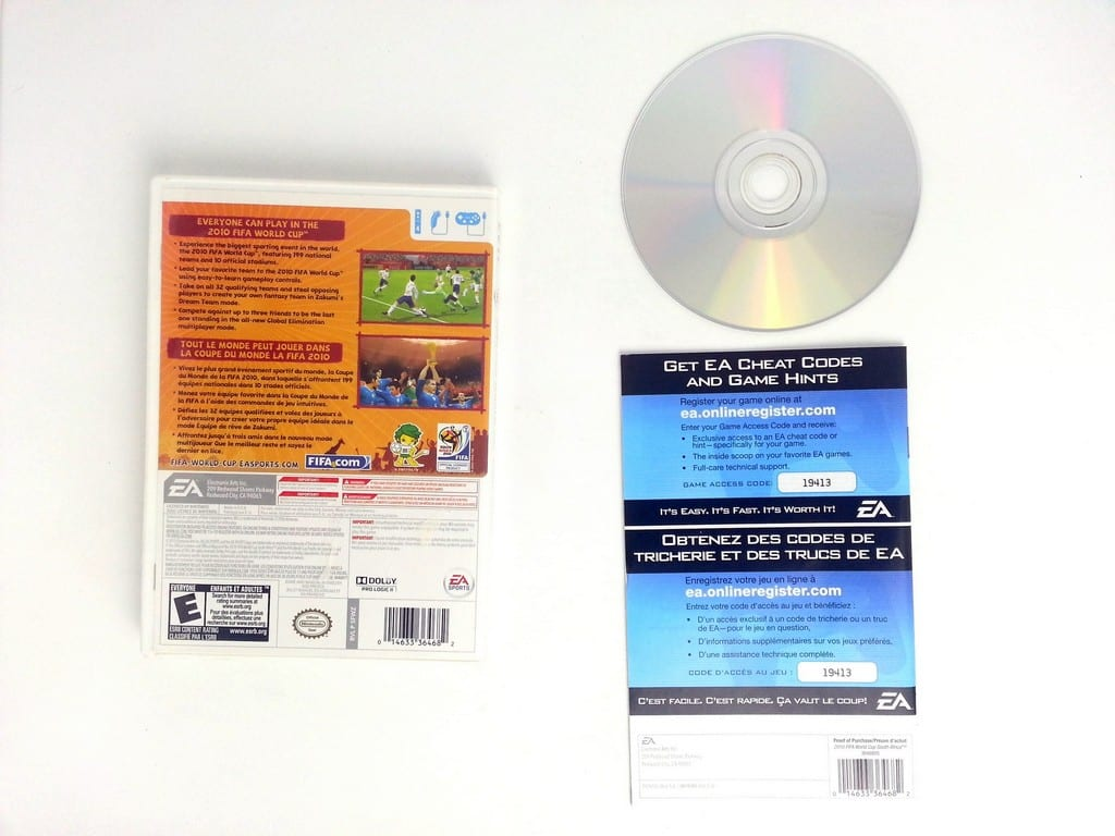 2010 FIFA World Cup game for Wii (Complete)   The Game Guy