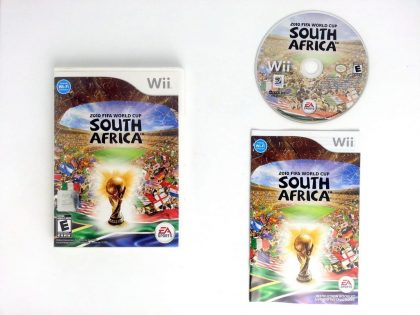 2010 FIFA World Cup game for Nintendo Wii -Complete