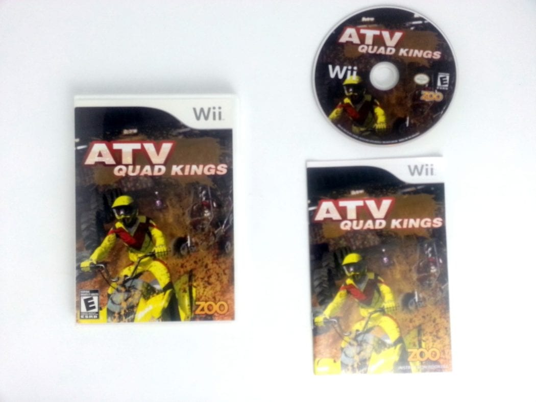 ATV Quad Kings game for Nintendo Wii -Complete