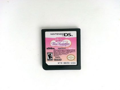 Barbie and the Three Musketeers game for Nintendo DS - Loose